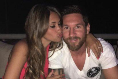 [VÍDEO] El vídeo más romántico de Messi y Antonella