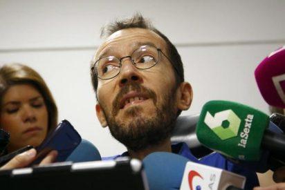 La razón de por qué el sueldazo de Echenique 'pone negros' a los de Podemos