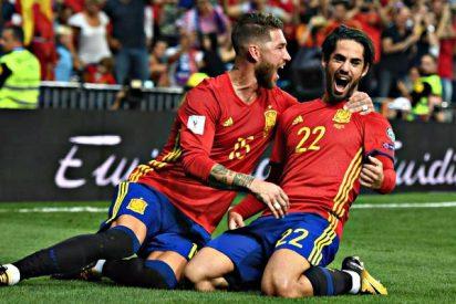 La magia de Isco 'aplasta' a Italia y abre a España la puerta grande del Mundial de Rusia