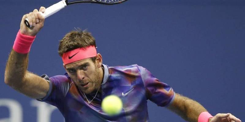 Del Potro revienta a pelotazos la semifinal entre Nadal y Federer