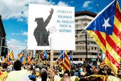 Los independentistas catalanes prefieren al terrorista Otegui que a la niña María Pilar