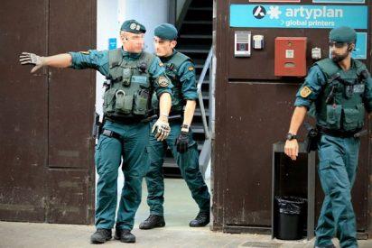 La Guardia Civil incauta una tonelada de propaganda del 1-O en la empresa de un imputado del caso Palau