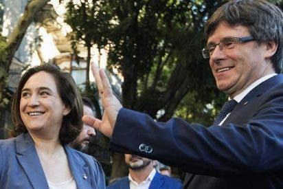 Ada Colau garantiza que el 1-O pondrá a Barcelona al servicio del referendum ilegal