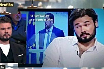 'LaSexta' se viene arriba y deja a Gabriel Rufián como un tonto en Twitter