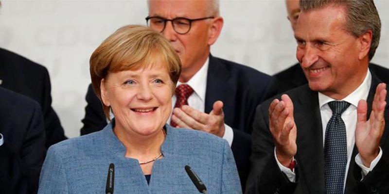 Angela Merkel vuelve a ganar pero la ultraderecha le revienta la Gran Coalición