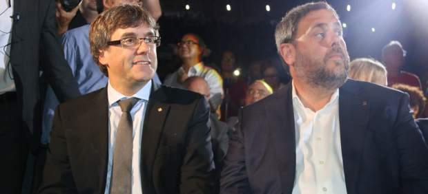 """Puigdemont inicia campaña sin mossos a la vista: """"¿Qué creéis que pasará el 1 de octubre? ¡Claro que votaremos!"""""""