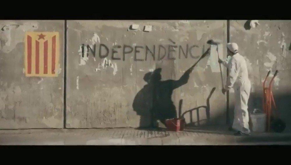 El repulsivo nuevo 'spot' del referéndum durante el primer acto de campaña