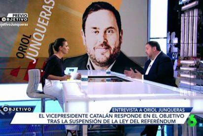"""El buen ojo de Oriol Junqueras con Ana Pastor: """"Es irrelevante si me inhabilitan o no"""""""