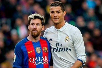 Cristiano Ronaldo la lía con Messi: la locura que asusta a Zidane (y a Florentino Pérez)