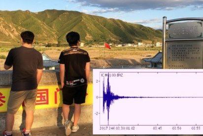 [AUDIO] Así de escalofriante se escuchó la explosión nuclear norcoreana
