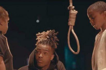 [VÍDEO+18] Racismo: Rapero afroamericano 'ahorca' a niño blanco en videoclip