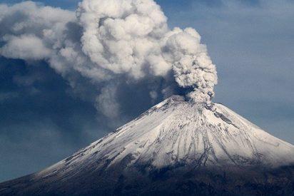 El volcán Popocatépetl hace erupción tras el terremoto en México