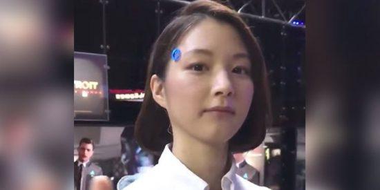 [VÍDEO] ¿Es un androide o una mujer?