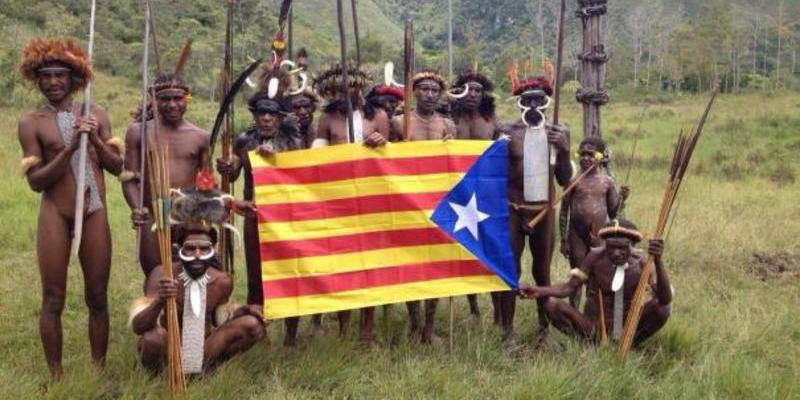 A la otra mitad de Cataluña no se le puede pedir que compita en fanatismo con Puigdemont y sus compinches