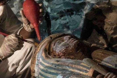El increíble tesoro hallado en una necrópolis de Egipto