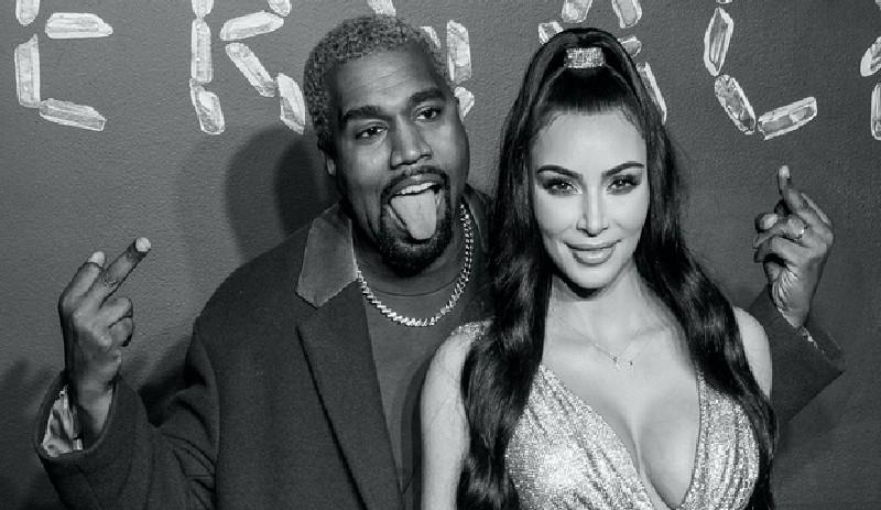 Kim Kardashian: 'lista para divorciarse de Kanye West en cuanto el rapero supere el episodio bipolar'