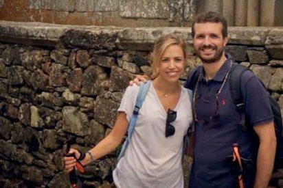 """Pablo Casado agradece el """"milagro"""" de su hijo haciendo el Camino de Santiago"""