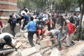 Tremendo terremoto sacude México