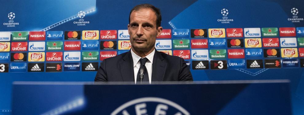 """Allegri: """"Elegiré 10 jugadores para crear peligro al Barça"""""""