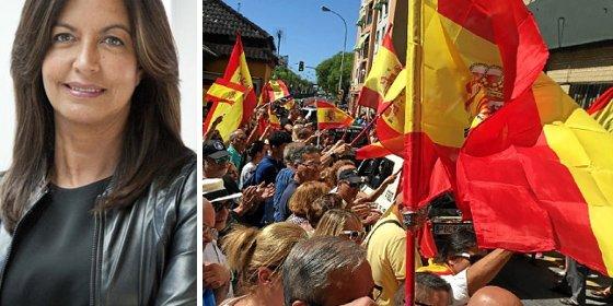 Ángels Barceló se suma a la teoría de Jabois y critica a los que despiden a los guardias civiles con banderas españolas