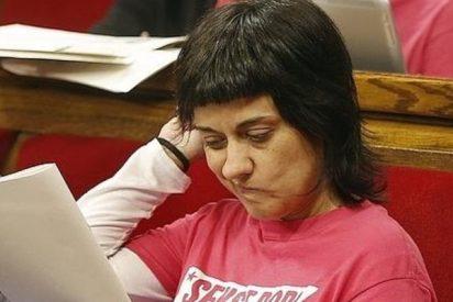 Anna Gabriel, la diputada de la CUP del corte de pelo al tazón, tiene un sueldo de 5.843 euros