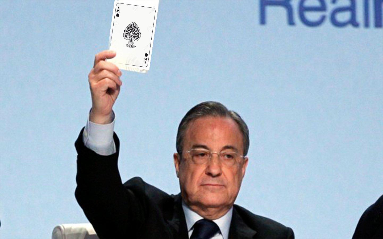 El as en la manga que tiene Florentino Pérez para el Real Madrid y que atemoriza a Europa