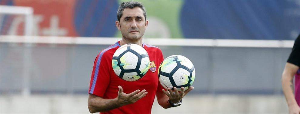 """""""Así no sigo"""": el primer incendio en el Barça de Ernesto Valverde"""