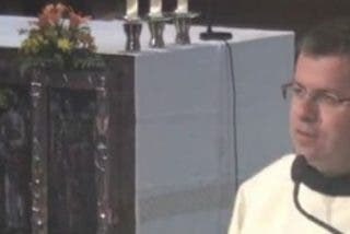 """Un monje de Montserrat denuncia la """"represión"""" del Estado español en Cataluña"""
