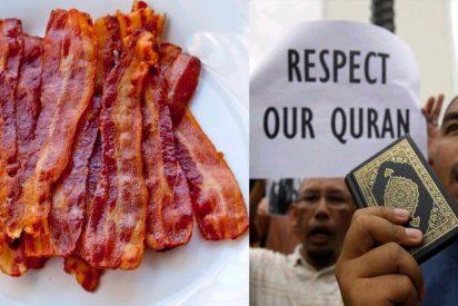 ¿Sabes a cuánto han condenado a un sueco por comer bacon ante unas musulmanas?