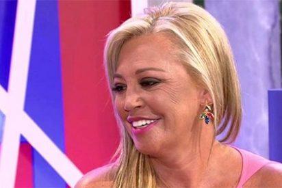 La hipocresía de Belén Esteban: sólo sabe echar mierda sobre Campanario si le pagan