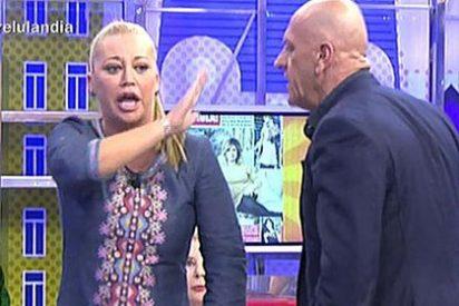 Kiko Matamoros abandona 'Sálvame' a gritos por ser el único que se atreve a machacar a Belén Esteban
