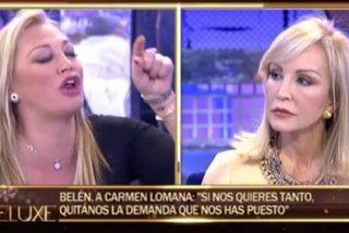 Carmen Lomana tiene claro que a Belén Esteban no ya hay quién la salve: