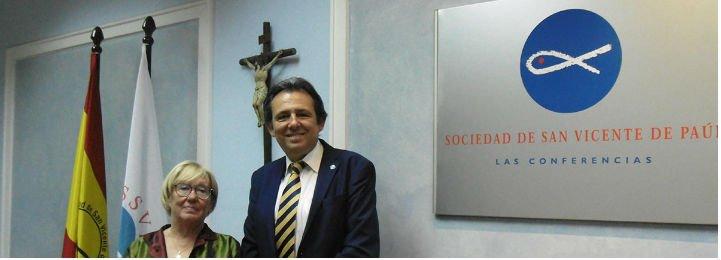 """Juan Manuel Buergo, presidente de la SSVP España: """"No nos conformemos con el servicio habitual que estamos prestando"""""""