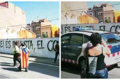 Los independentistas se adueñan de las calles de Cataluña con la complicidad de los Mossos