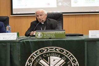 """Cardenal Cañizares asegura en la UCV que el factor religioso es """"un instrumento para la paz en el mundo"""""""