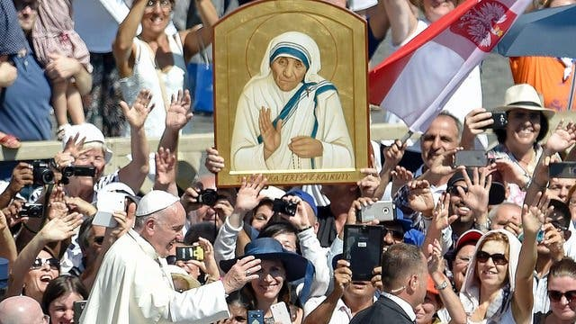 Santa Teresa será copatrona de Calcuta