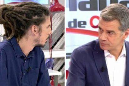 Toni Cantó deja en evidencia al rastas de Podemos por intentar rapiñar votos en pleno conflicto con Cataluña en ebullición