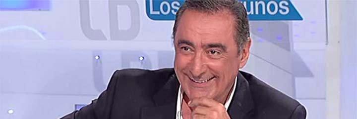 Los 'haters' y perseguidores de Carlos Herrera se ahogan en su bilis tras enterarse de su fichaje por TVE