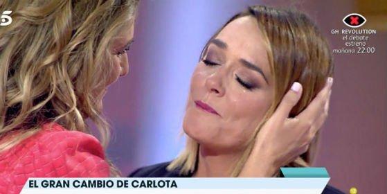 ¿Por qué rompieron a llorar amargamente Carlota Corredera y Toñi Moreno en 'Viva la vida'?