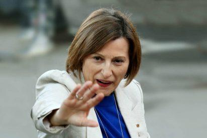 Muelen a palos a la histriónica Carmen Forcadell por su última mamarrachada con el 1-O