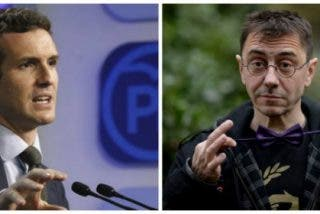 Pablo Casado muele a palos al bocazas y amnésico de Monedero por dárselas de demócrata caviar