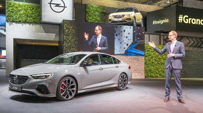 Opel presenta tres primicias en el Salón del Automóvil de Frankfurt