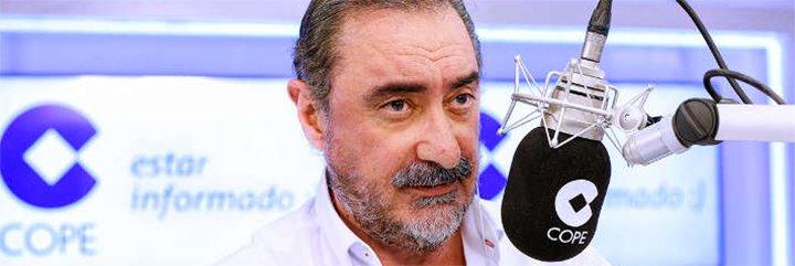 """Carlos Herrera: """"Los profascistas de Arran presionan a alcaldes como hacía Puigdemont"""""""