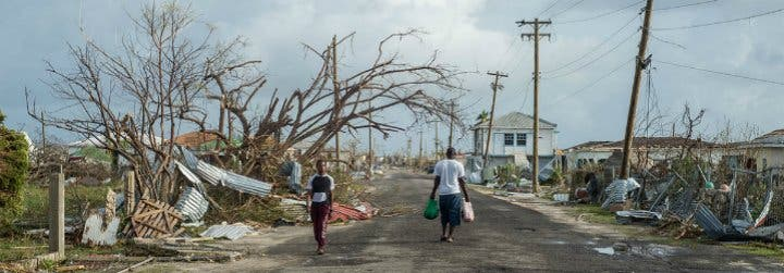 """Padre Kaboré: """"Barbuda ha sido completamente destruida, y Tortola, Virgen Gorda y Anguilla han sufrido daños inmensos"""""""