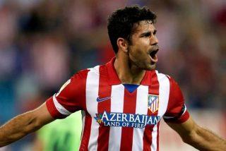 Diego Costa se aleja del Chelsea y se acerca al Atlético de Madrid