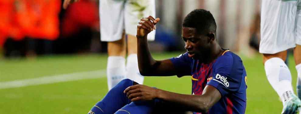 El Barça no se ahorrará ni un duro con Dembelé (la lesión destapa una nueva mentira)
