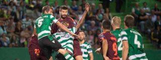 El Barça se va de Lisboa con un lío que amenaza a Valverde (y con 'recadito' de Messi)