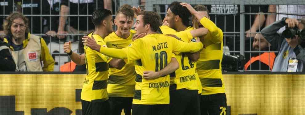 El Borussia Dortmund mueve ficha para quitarle un fichaje a Florentino Pérez (y al Barça)
