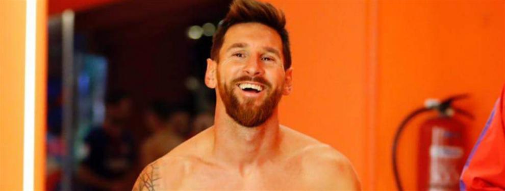 El extraño tatuaje que tiene Messi en su zona pélvica y que no conocías