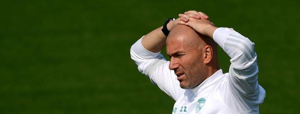 El favoritismo de Zidane hacia un jugador provoca una guerra en el vestuario del Real Madrid